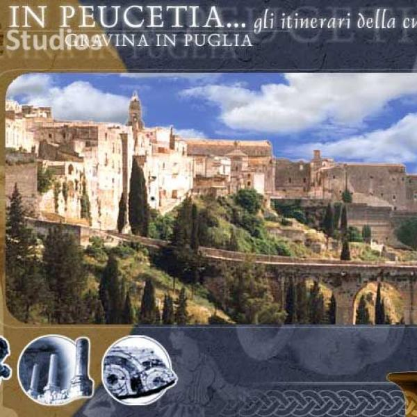 "Multimedia CD-ROM "" IN PEUCETIA: THE CULTURE ITINERARIES"""
